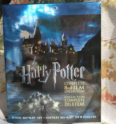 $36.50 • Buy Harry Potter: Complete 8-Film Collection (Blu-ray Disc, 2011, 8-Disc Set)