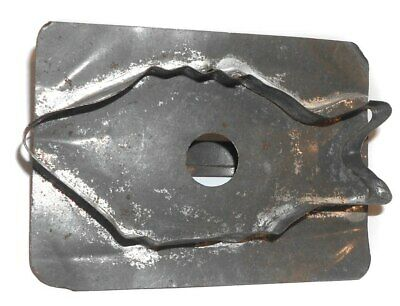 Vintage Handmade Primitive Tin Fish Shaped Cookie Cutter • 17.56£