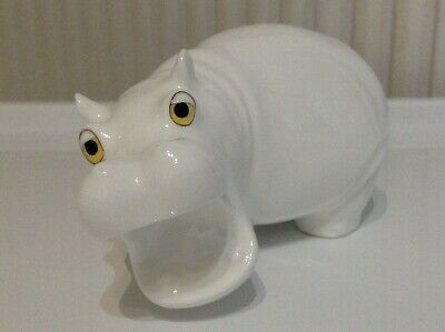 Royal Osborne Bone China Hippopotamus White Malaysia MMR-1850 • 11£