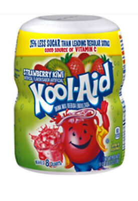 Kool-Aid Strawberry Kiwi  Drink Mix 538g Tub FREE DELIVERY • 8.99£