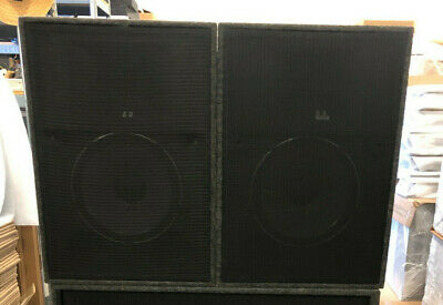 $1000 • Buy ATK Audiotek Corp Two Way Speaker Cabinets With JBL Components