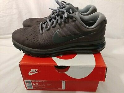 $49 • Buy Nike Air Max 2017 Men's Running Shoes Anthracite Pre-Owned 849559 008 Size 9.5
