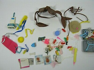 $ CDN40.68 • Buy Lot Of Vintage Barbie Clothes Accessories And Other Doll Clothes MISC.
