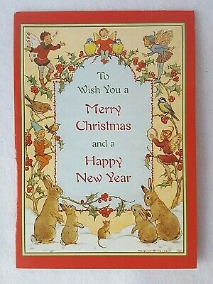 6 Christmas New Year's Cards Margaret Tarrant The Medici Society • 14.11£