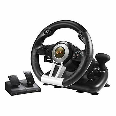 $115.37 • Buy Xbox One Steering Wheel And Pedal Set Racing Gaming Simulator Driving Real