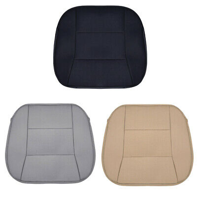 $ CDN17.44 • Buy Leather PU Car Seat Cover Breathable Front Seat Cushion Mat Protector Universal