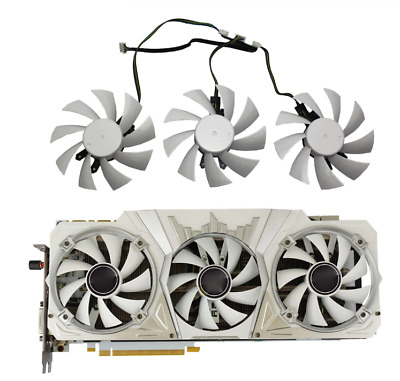 $ CDN6.88 • Buy For GALAX GTX1060 GTX1070 GTX1070Ti GTX1080 KFA2 GPU Cooler Fan GeForce GA92S2H
