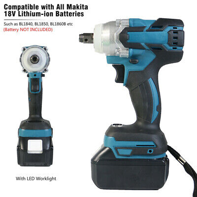 For Makita DTW285Z 18V LXT Cordless Brushless 1/2  Impact Wrench Gun Body Only • 49.90£