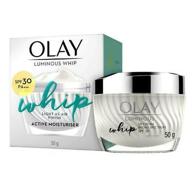AU99.74 • Buy Olay White Radiance Whip UV SPF30 PA+++ Active Moisturiser Smooth All Day 50g