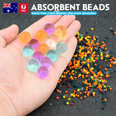 AU5.59 • Buy 50000x Crystal Soil Orbeez Water Balls Jelly Gel Beads Vase Decoration Wedding