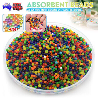 AU17.99 • Buy 10000x Crystal Soil Orbeez Water Balls Jelly Gel Beads For Plant Vase Wedding