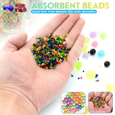 AU17.99 • Buy 50000pcs Crystal Soil Orbeez Water Balls Jelly Gel Beads Plant Vase Home Wedding