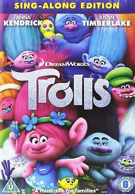 Trolls Sing-along Edition Dvd New/Sealed Dreamworks Fast Free Postage • 3.95£