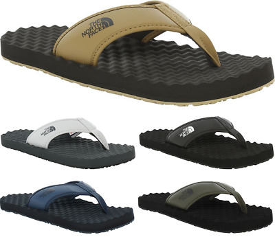 THE NORTH FACE Base Camp II Summer Beach Pool Shoes Thong Flip Flops Mens New • 33.99£