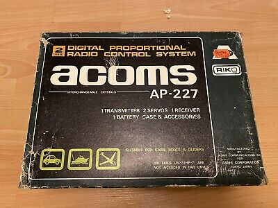 Vintage Acoms Techniplus Transmitter AP-227 For Tamiya, Kyosho Or Others 27mhz • 34.99£