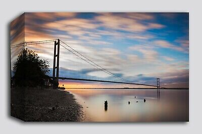 Humber Bridge Canvas Print - Images Of Hull - Large Print - Hull Pictures • 89.99£