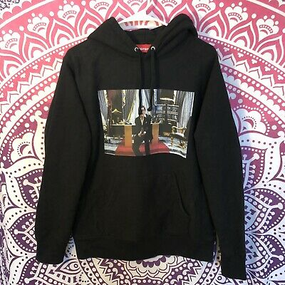 $ CDN467.81 • Buy Authentic Rare Supreme Scarface Movie Friends Tony Montana Hoodie Black Medium