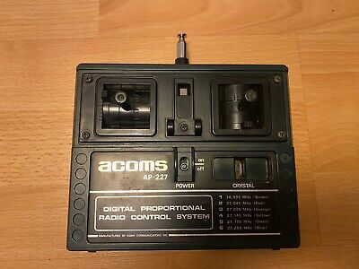 Vintage Acoms Techniplus Transmitter AP-227 For Tamiya, Kyosho Or Others 27mhz • 25£