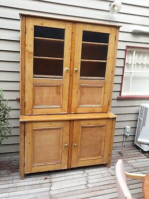 AU350 • Buy Large Baltic Pine Kitchen Dresser/bookcase.