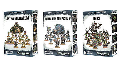 Start Collecting! Warhammer 40k Sets - Level 1 Painting Standard Applied - PUP • 245£