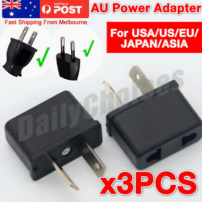 AU5.69 • Buy USA US EU JAPAN ASIA To AU Australia Plug AC Power Adapter Travel Converter AU