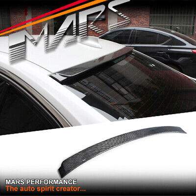 AU299.99 • Buy AC Style Carbon Rear Window Roof Lip Spoiler Wing For BMW 3-Series F30 & M3 F80