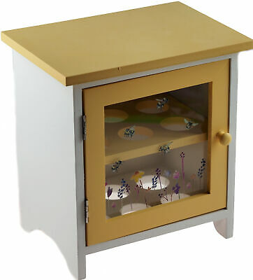 £19.99 • Buy Busy Bumble Bee Wooden Egg Storage Cabinet - Country Kitchen Gift