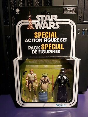 $ CDN49 • Buy Star Wars The Vintage Collection Special Action Figure Set Cave Of Evil 2019
