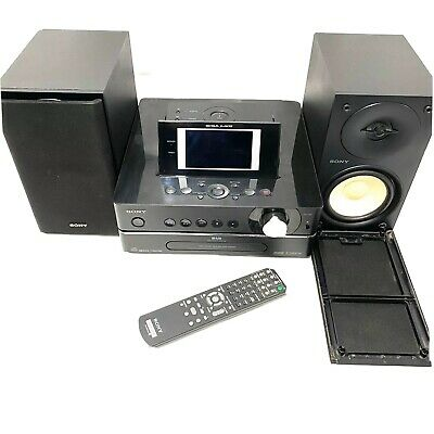 Sony Giga Juke NAS-S55HDE Home Music System + Remote 80GB HDD *Fully Tested* VGC • 299.99£