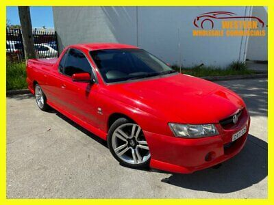 AU6990 • Buy 2005 Holden Ute VZ S Utility Extended Cab 2dr Auto 4sp 723kg 3.6i Red Automatic