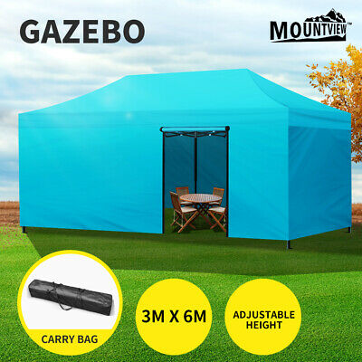AU219.99 • Buy Mountview Gazebo Pop Up Marquee 3x6m Canopy Wedding Tent Outdoor Camping Folding