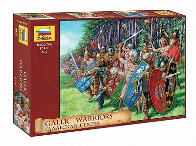 Plastic Toy Soldiers Ancient GALLIC INFANTRY Scale 1:72 ZVEZDA • 10.85£