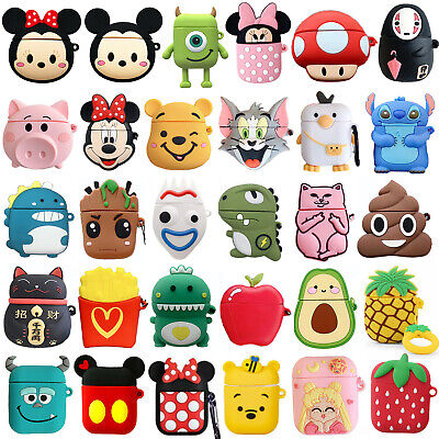 $ CDN6.05 • Buy Shockproof Cute 3D Cartoon Silicone Case Cover For Airpod AirPods 1 & 2 Case