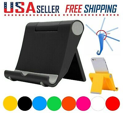 $4.45 • Buy Cell Phone Fordable Desk Stand Holder Mount Cradle Dock IPhone Galaxy Switch