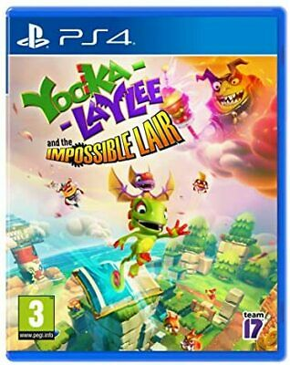 AU41.93 • Buy Yooka-Laylee And The Impossible Lair PS4