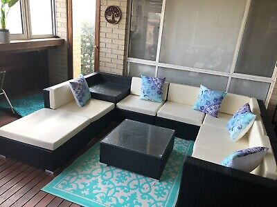AU600 • Buy Outdoor Lounge Near New RRP $1299 - Bought 5 Months Ago