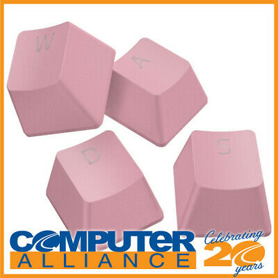 AU59 • Buy Razer PBT Keycap Upgrade Set - Quartz Pink RC21-01490300-R3M1