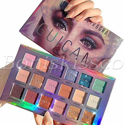 AU19.36 • Buy 18 Colors Eyeshadow Palette Makeup Matte Shimmer Eye Shadow Cream With Mirror