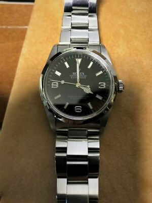 $ CDN8831.55 • Buy Rolex Explorer Automatic Stainless Steel Men's Watch 14270 Used Overhauled