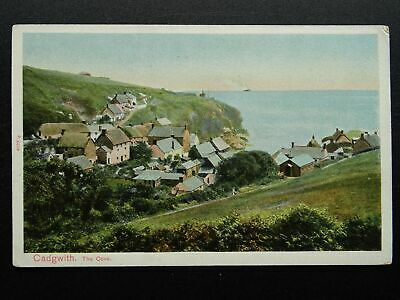 £9 • Buy Cornwall Lizard Peninsula CADGWITH The Cove & Village - Old Postcard By P.S.Co.