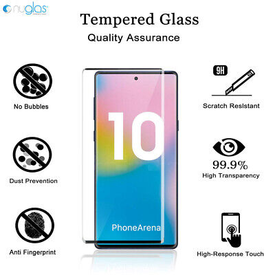 AU9.89 • Buy NUGLAS Tempered Glass Screen Protector Samsung Galaxy Note S20 Ultra  S10 9 Plus