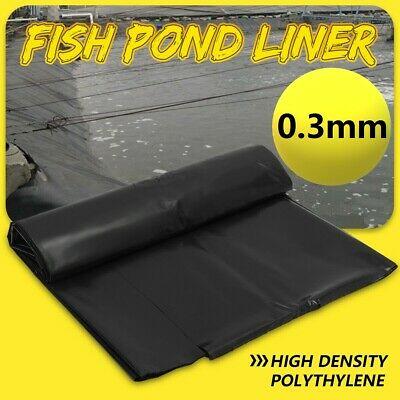 Extra Thick Fish Pond Liners Garden Pool Membrane Landscaping Reinforced HDPE UK • 13.99£