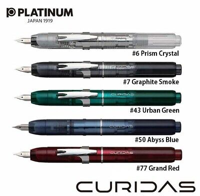 Platinum Capless Vanishing Point Fountain Pen CURIDAS From Japan • 103.76£