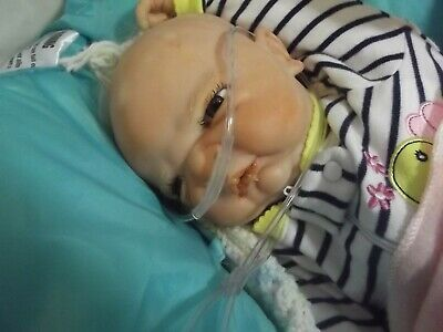 Breathing Cannula For Reborn Doll With Oxygen Tank • 9.93£