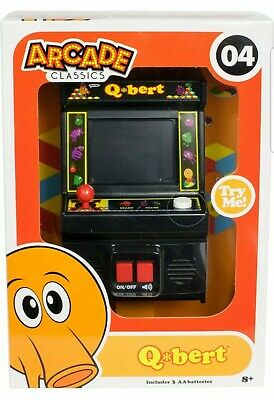 $ CDN21.68 • Buy New QBERT Arcade Classics #04 Mini Retro 2016 Sealed Unopened 09543 Q*Bert