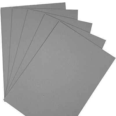 £3.49 • Buy Greyboard Mount Board 1000 Microns A4 Backing Model Board 1mm Thick Card Sheets