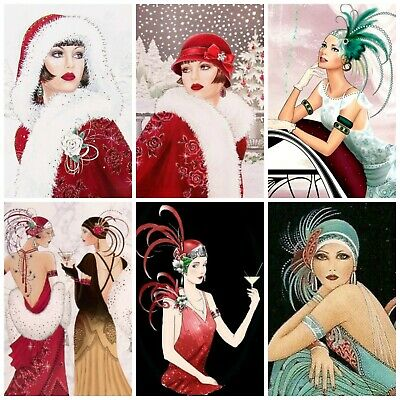 £2.90 • Buy MARTINI ART DECO  Card Making Toppers, Card Toppers (12)