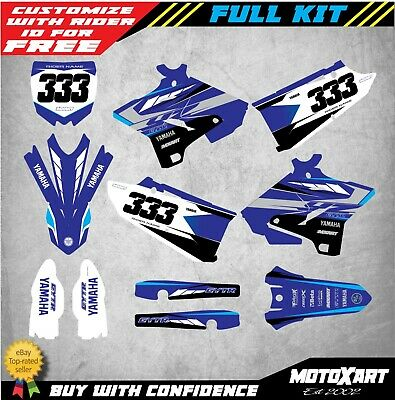 AU179.90 • Buy Custom Graphics, Decal Kit For Yamaha YZ 125 2015-2020 TORNADO Style Sticker Kit
