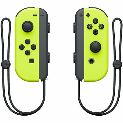 $77 • Buy Nintendo Joy-Con (L/R) Wireless Controllers For Nintendo Switch - Neon Yellow