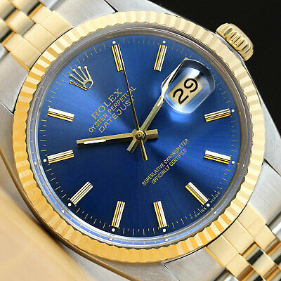 $ CDN6124.68 • Buy Rolex Mens Datejust Two-tone 18k Yellow Gold & Steel Watch With Rolex Band